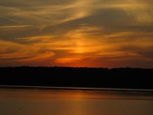 Sunset at Lake Tenkiller