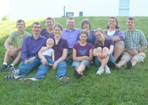 Clipperton family Mother's Day picture- May 2014