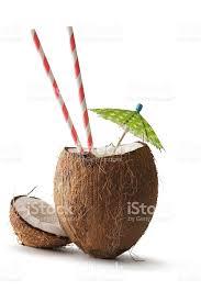 coconut straw iStock photo